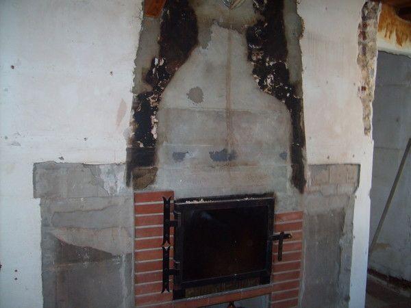 Notre maison en r novation for Canape qui brule